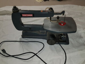 Craftsman 16 inch Variable Speed Scroll Saw