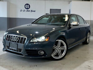2011 AUDI S4 NAV|SPORT DIFF|BSM|ONE OWNER|ACCIDENT FREE|