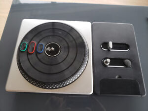 DJ Hero 1, DJ Hero 2, and Turntable Control for PS3