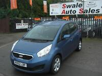 2013 KIA VENGA 2 AUTOMATIC 1.6L ONLY 14,096 MILES, FULL SERVICE HISTORY, 1 OWNER