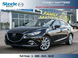 2016 Mazda MAZDA3 GT W/ Leather Navigation