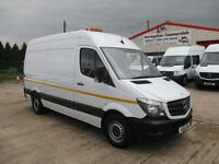 14 reg MERCEDES BENZ SPRINTER 313 MWB UTILITY WORKSHOP VAN ***63,000 MILES***