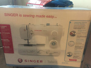 Brand new Singer Talent 3323s sewing machine