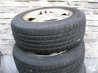 Sell 225/60R16 tires with rims