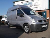 2010 10 RENAULT TRAFIC 2.0 DCI 115BHP LWB HIGH ROOF LH29 IDEAL CAMPER AIR CON EW