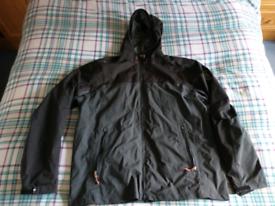 Decathlon men's waterproof jacket, XL