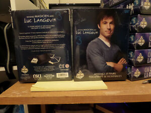 Devenez magicien avec Luc Langevin 3 neuf pas déballer. 20.00$