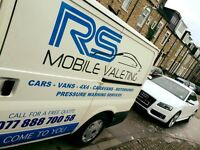 Mobile valeting business for sale