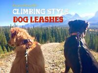 Handmade Climbing-style Dog Leashes