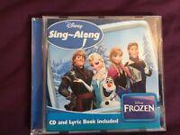 Frozen sing along cd