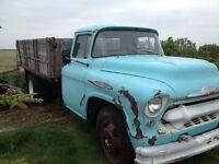 1957 CHEVY  Dually Farm Truck Pickup