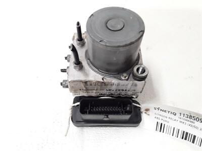 ABS PUMP CITROEN RELAY MK3 (X2/50) 2014 On 2198 ABS Control ECU