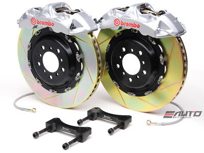 Brembo Front GT Brake 6pot Silver 380x32 Slot GS350 GS450h 12+ IS350 14+ RC350