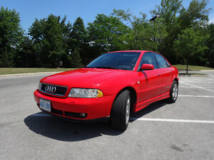 1999 Audi A4 1.8 turbo, quattro, manual, certified - best offer