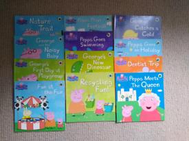 Peppa pig book bundles x2