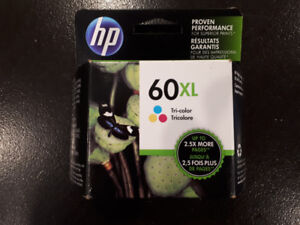 HP 60 XL tricolor ink