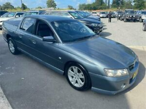 2005 Holden Crewman VZ Storm S Grey 4 Speed Automatic Utility