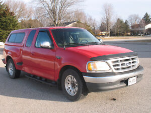 1999 Ford F-150 XLT with Leer Cap **SAFETIED & E-TESTED** Kitchener / Waterloo Kitchener Area image 2