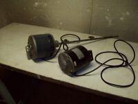 2-MOTEURS ELECTRIQUES,5.6 ET 5.8 AMPERES,GENERAL ELECTRIC.
