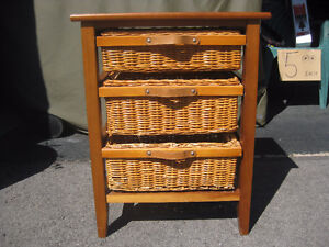 3-DRAWER SEWING CABINET