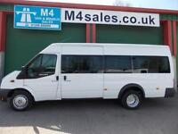 Ford Transit Wheelchair Access Minibus Fully Tracked & Internal Lift & C