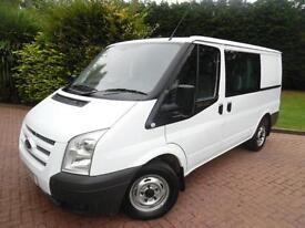 2013 Ford Transit T280 2.2TDCi SWB DOUBLE CAB 6 SEAT CREW VAN
