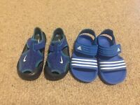 Boys sandals size 6 £10 for both