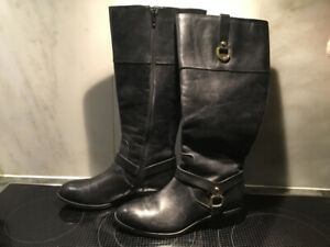 BOTTES RALPH LAUREN MESA RIDING BOOTS