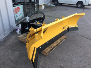 FISHER SKIDSTEER XRS SNOW PLOW