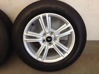 2014 Mustang New Take-Off Wheels and Tires - 225/60R17 - MINT