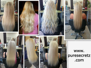 HAIR EXTENSIONS*HALF PRICE OF GL & OURS WILL LAST OVER 1 YEAR London Ontario image 6