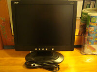 """15"""" LCD ACER computer monitor"""