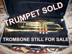 SELLING..... TRUMPET  AND STORAGE CASE READY TO PLAY