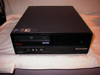 Used Lenovo  M57 Core 2 Duo Small Form Factor Computer for Sale