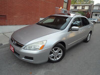 2006 HONDA ACCORD SE , SUNROOF , LOW MILEAGE , REMOTE STARTER !! City of Toronto Toronto (GTA) Preview