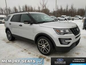 2016 Ford Explorer Sport 4WD Dual Panel Moonroof Adapt Cruise Co
