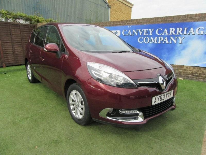 2013 Renault Grand Scenic 1.2 TCe ENERGY Dynamique Tom Tom (Bose+ pack) 5dr