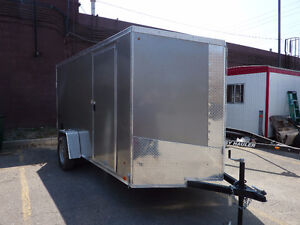 NEW 2017 CARGO EXPRESS 6 X 12 +2'V SCREWLESS EXT.