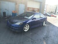 Civic 2005 reverb