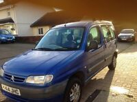2001 BERLINGO MULTISPACE 5 SEATER MOT JULY GREAT DRIVER