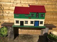 Hand made dolls house.