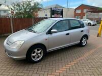 LHD LEFT HAND DRIVE 2002 HONDA CIVIC 1.6 CDTI FREE DELIVERY IN UK, CAN UK REGIST