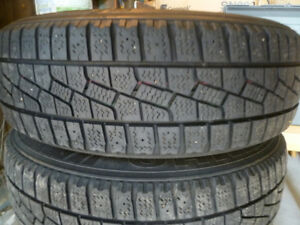 185/65/14 Kuhmo Izen Stud Winter Tires + Rims