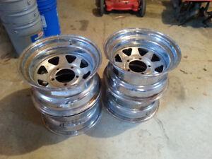 15x8 Steel GM wheels