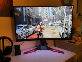 "Elite ASUS PREDATOR WQHD 1440p 165hz curved monitor 32"""