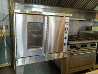 Convection Oven and 6 Burner Gas stove