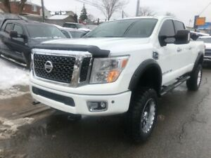 2016 Nissan Titan XD|Diesel|Back Up Cam|Navi|Lifted|Accident Fre
