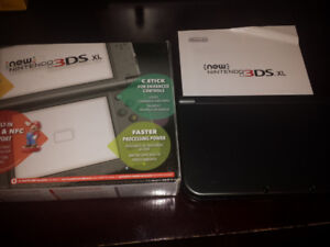 """The """"New"""" Nintendo 3DS XL system in box"""