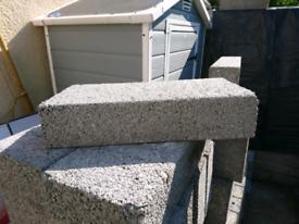 Solid dense concrete blocks (100MM)