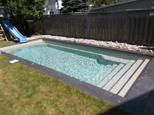 Installed Fiberglass Swimming Pool $39,895